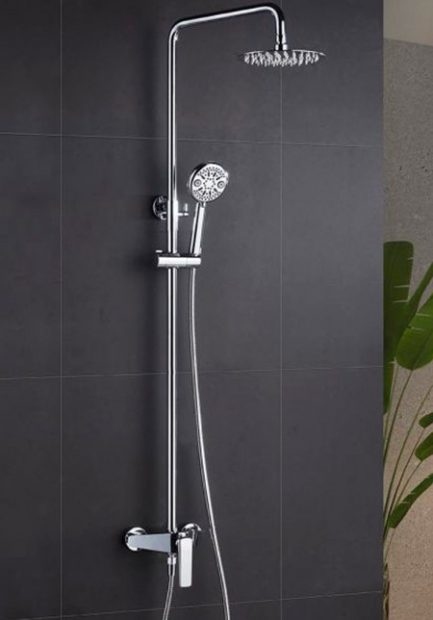 Rampa duche com torneira Escocia - wc - Aurymat