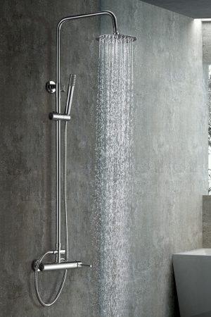Rampa duche com torneira Milan wc aurymat