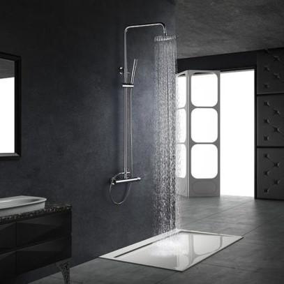 Rampa duche com torneira Milos - wc - Aurymat 2