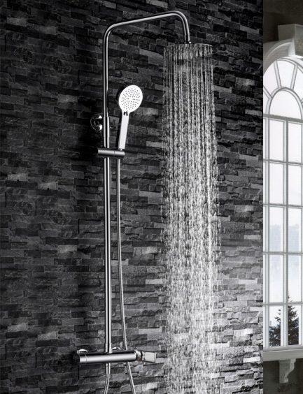 Rampa duche com torneira Nassau wc aurymat