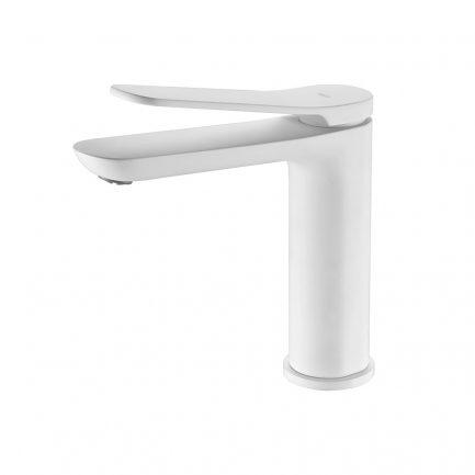 Torneira de lavatório Dinamarca Branco Mate - wc - Aurymat
