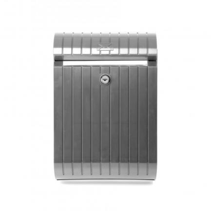 caixa de correio piccolo cinzento metalizado tatay 0044009