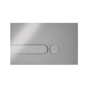 placa de comando iPlate oli cromado - aurymat