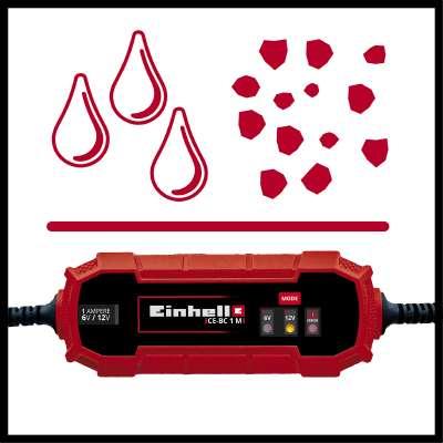Carregador de baterias Einhell CE-BC 1M 5