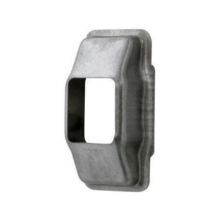 Espelho para guia de fita de estores Alumínio