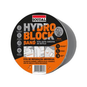 banda impermeabilizante hydro block soudal 10