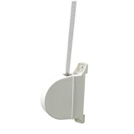enrolador estore exterior articulado com fita 20mm branco