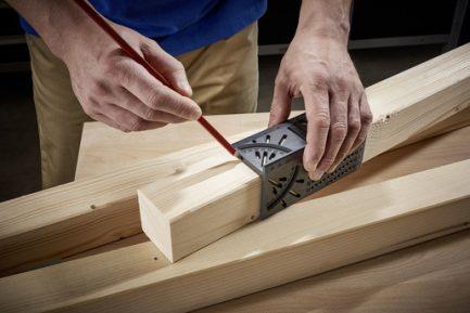 Angulo de medição 3D para madeiras e tubos Wolfcraft - Aurymat 4