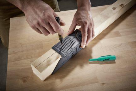 Angulo de medição 3D para madeiras e tubos Wolfcraft - Aurymat 6