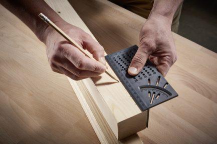 Angulo de medição 3D para madeiras e tubos Wolfcraft - Aurymat 7