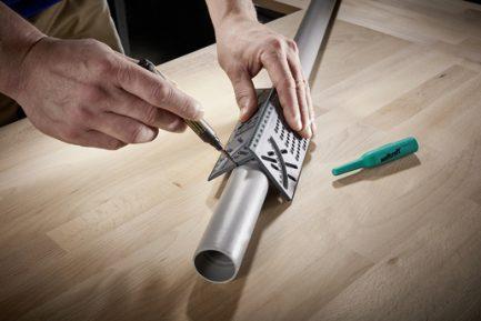 Angulo de medição 3D para madeiras e tubos Wolfcraft - Aurymat 9