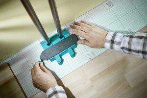 Calibrador de contornos 180x20x105mm Wolfcraft - Aurymat 4