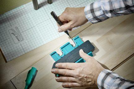 Calibrador de contornos 180x20x105mm Wolfcraft - Aurymat 5