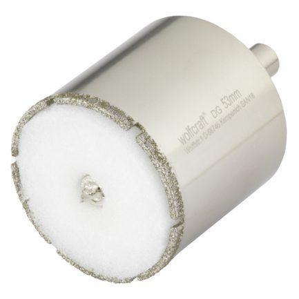 Craneana diamante Ceramic com broca Wolfcraft 25 35 45 mm - Aurymat