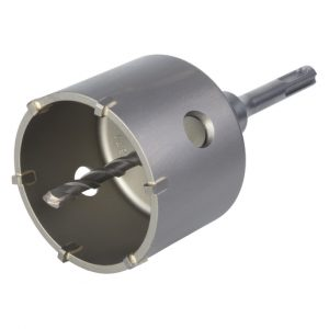 Craneana para betão SDS-Plus Wolfcraft 35mm 50mm 68mm 76mm 83mm - Aurymat