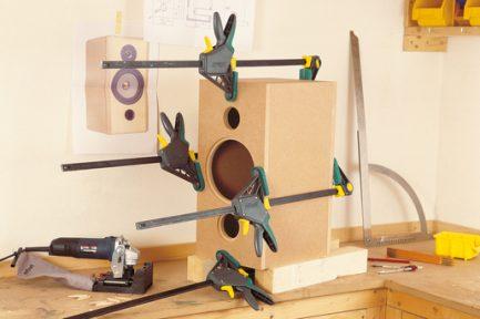 Grampo aperto de uma mão EHZ Pro 100-150 Wolfcraft 3 - Aurymat