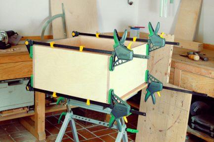Grampo aperto de uma mão EHZ Pro 100-150 Wolfcraft 4 - Aurymat