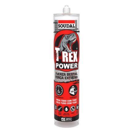 cola t-Rex Power Clear soudal 290ml
