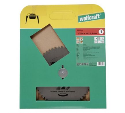 disco serra 250 wolfcraft 6600000 1
