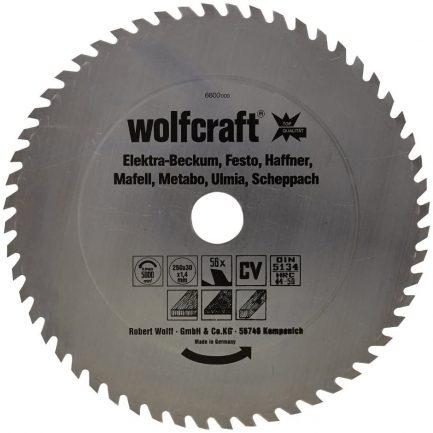 disco serra 250 wolfcraft 6600000