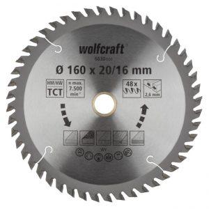 disco serra circular 160 wolfcraft 6630000