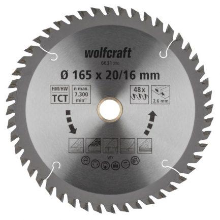 disco serra circular 165 wolfcraft 6631000