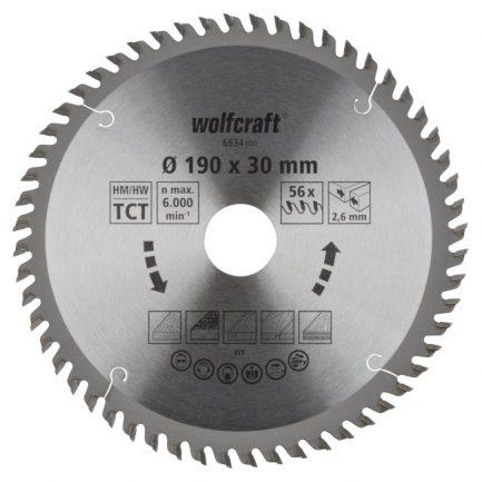 disco serra circular 190 wolfcraft 6634000