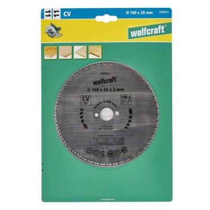 disco serra circular 160 wolfcraft 6268000 1