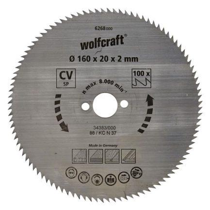 disco serra circular 160 wolfcraft 6268000