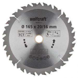 disco serra circular 165 wolfcraft 6644000