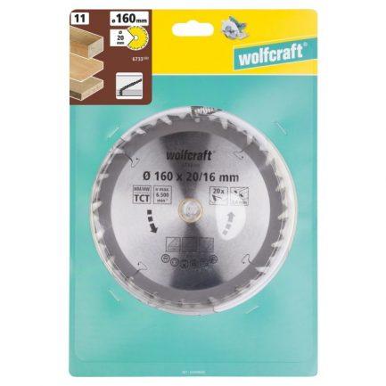 disco serra circular 160 wolfcraft 6733000 1