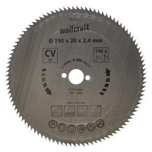 disco serra circular 190 wolfcraft 6276000