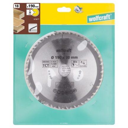 disco serra circular 190 wolfcraft 6736000 1