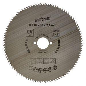 disco serra circular 210 wolfcraft 6281000