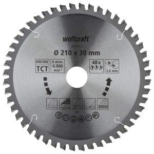 disco serra esquadria 210 wolfcraft 6545000