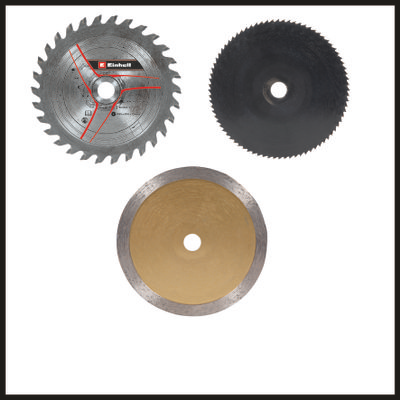 mini serra circular tc-cs 89 einhell discos