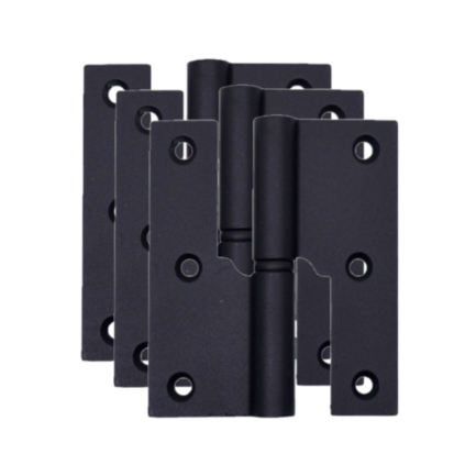3 dobradiças balanço 3,5 esquerda glk 475z preto