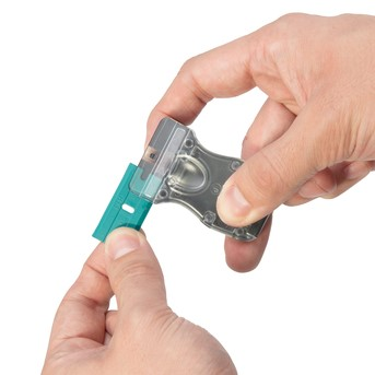 Raspador com lâminas de plástico wolfcraft 4287000 3