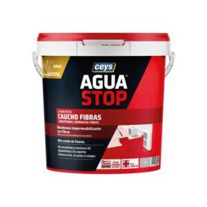 borracha acrilica fibras agua stop ceys 5kg