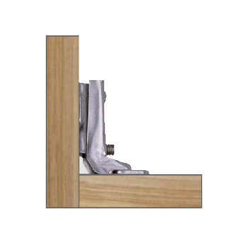 dobradiça articulada curva total