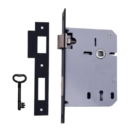 fechadura embutir porta 716 preto