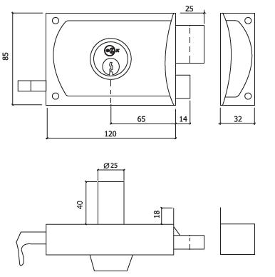 fechadura regulex glk a380 dt