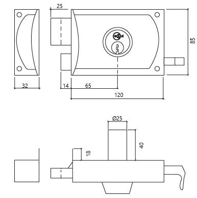 fechadura regulex glk esq a380 dt
