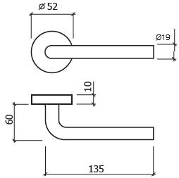 puxador porta glk 8002 dt