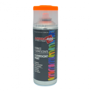 spray tinta laranja fluorescente ambro-sol